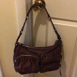 MZ Wallace Claret nylon new handbag